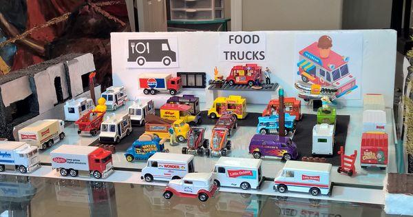 Hot Wheels Diorama Food Trucks Hot Wheels Diorama Trucks