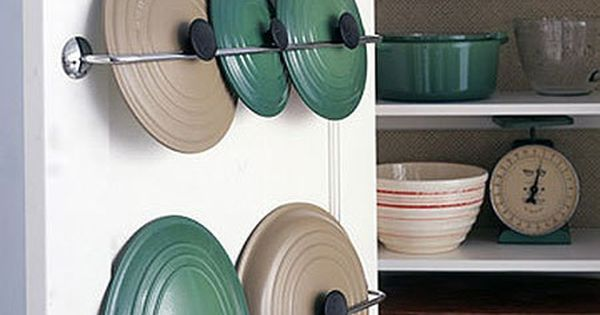 This is such a good idea for annoying lids i can 39 t s wait for 34 insanely smart diy kitchen storage ideas