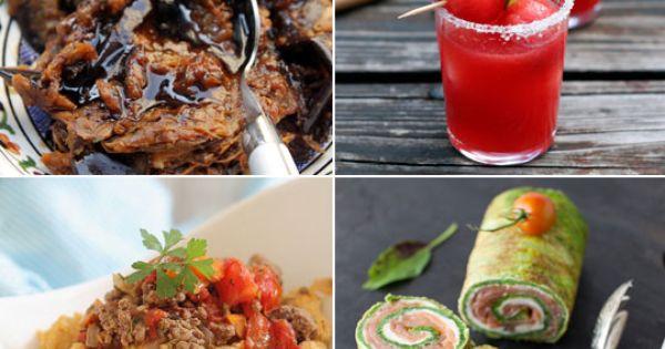 ... Basil Watermelon Margaritas | Gnocchi, Spreads and Peach cheesecake