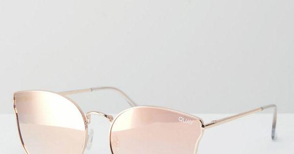 Image 1 quay australia all my love lunettes de for Miroir rose gold