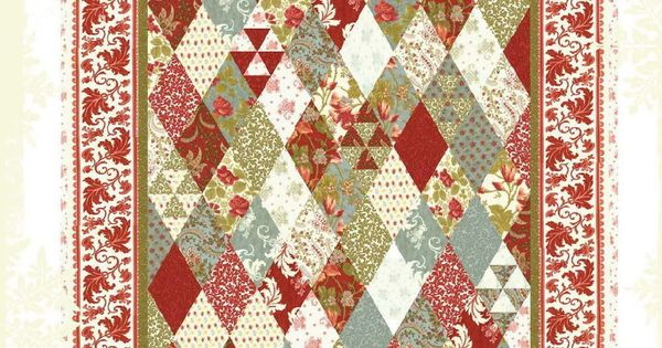 quilt pattern moda charm pack by 3