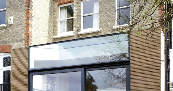 Une extension c t jardin tout en finesse maisons for Construire une extension