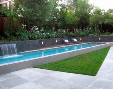 Pin By From Farm To Fashion On Home Sweet Home Pool Shade Concrete Swimming Pool Lap Pool Designs