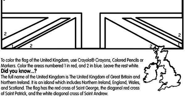 british flag color