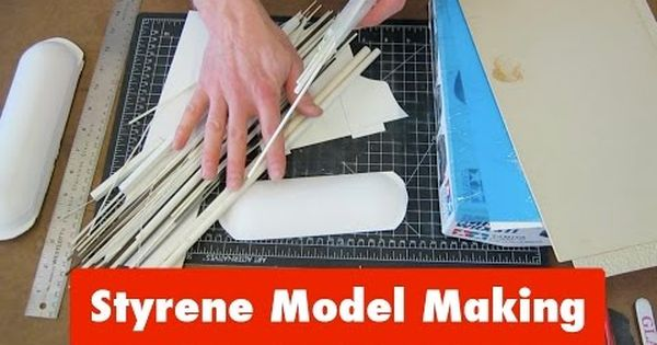Check Out Part 2 Https Www Youtube Com Watch V 3 Edp Episode 1 Of A 2 Part Series On How To Work With Styrene This W Model Making Styrene Model Trains
