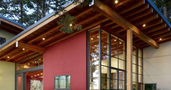 Awesome architecture davis residence in bellingham - Maison davis miller hull partnership ...