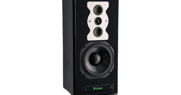 mcintosh black singles Used mcintosh ls320 standmount speakers for sale on  mcintosh ls-320 speakers in black ash finish us audio  mcintosh ls-320 single black-finish speaker.