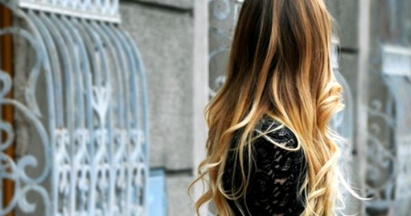 ombre hair long hair