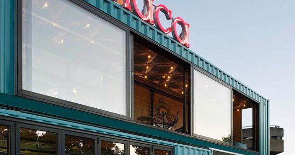 39 wahaca mexican restaurant 39 has just opened a shipping container pop up location in london 39 s - Wahaca shipping container restaurant ...
