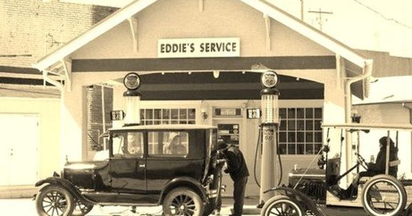 Model T Ford Forum Old Photo Model T Era Jeff S Filling Station