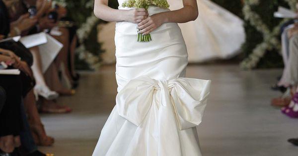 Oscar de la Renta Bridal Spring 2013 Ivory silk stretch radzimir sweetheart