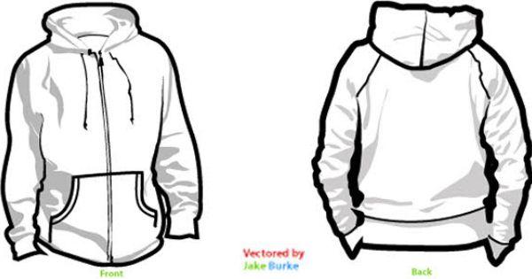 Download Hoodie Templates Free Vector Hoodie Template Hoodie Vector Hoodie Clipart