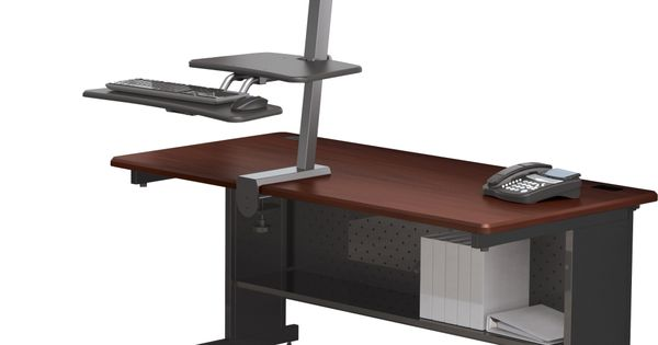 Stand up desk, Computer keyboard and Stand up on Pinterest