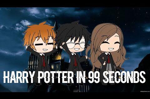 Harry Potter In 99 Seconds Gacha Life Read Desc Tysm For 100k Views Youtube Harry Potter Cartoon Harry Potter Artwork Harry Potter Feels