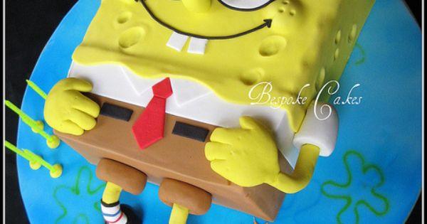 Sponge bob square pants by Bespoke Cakes, via Flickr