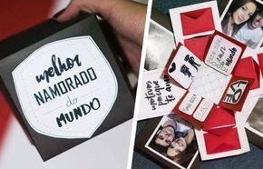 Presente Dia Dos Namorados Com Imagens Caixinha Surpresa Para