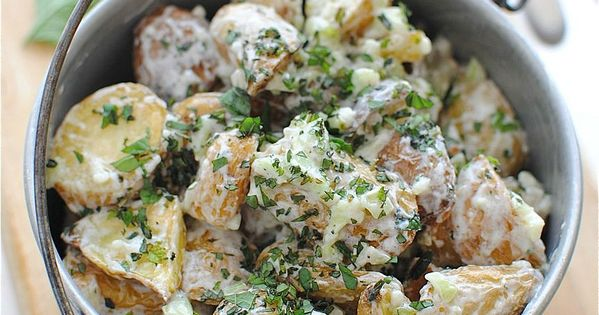 Lemony Roasted Potato Salad: No mayo needed. I have so many different