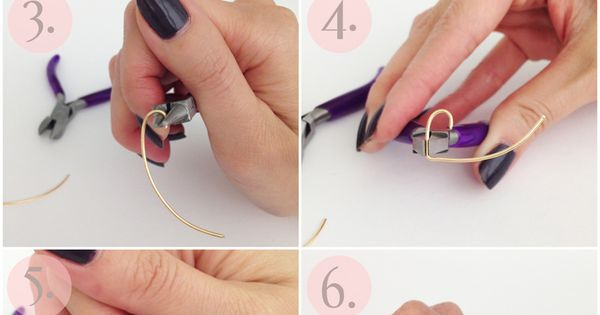 diy wire heart ring tutorial step by step instructions. Black Bedroom Furniture Sets. Home Design Ideas
