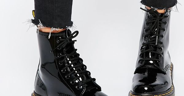 image 1 of dr martens modern classics 1460 patent 8 eye boots my style moderne
