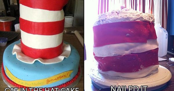 Cat in the Hat Nailed It Cake   Nailed It Cakes ...