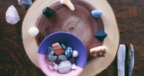 Create An Altar At Home Using Crystals Sacred Space Create Altar