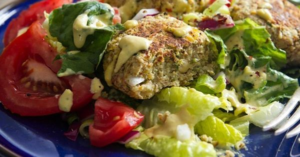Falafel! from @Angela Gray Liddon ohsheglows angelaliddon falafel mediterrean greek lunch dinner