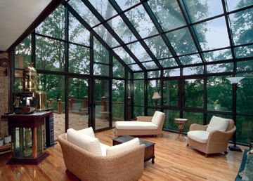 Sunrooms With Glass Roofs Photos Design Ideas Sunroom Designs Glass House Patio Enclosures