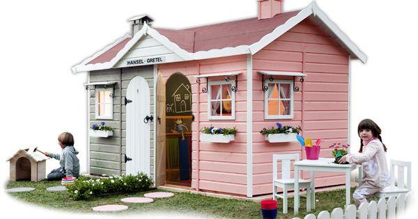Casita de madera greenhouse infantil hansel y gretel - Venta de casitas infantiles ...