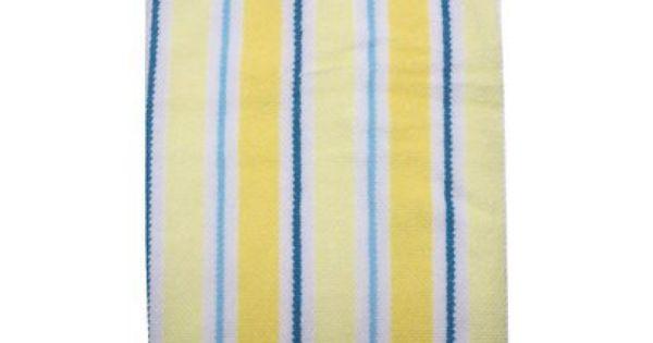 Circo® Striped Bath Towel - Yellow/Blue