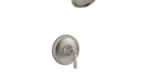 Kohler Linwood Bath Shower Faucet In Brushed Nickel K R45783 4 Bn At The Home Depot Tablet