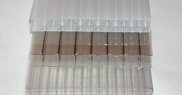 These Polycarbonate Greenhouse Sheets From Bottom To Top Are 6mm Clear Twinwall 8mm Clear Twinwall Polycarbonate Panels Polycarbonate Greenhouse Polycarbonate