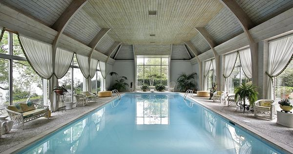 45 Screened In Covered And Indoor Pool Designs Wicker