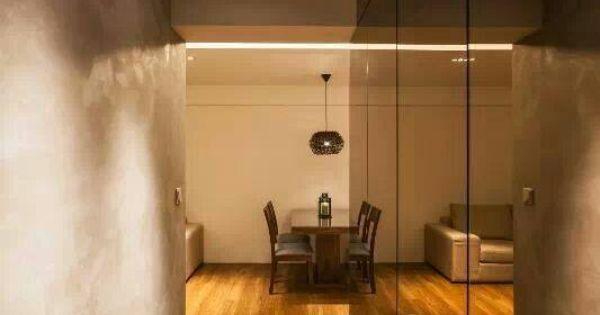 Mirror walls, Walkways and Flooring on Pinterest