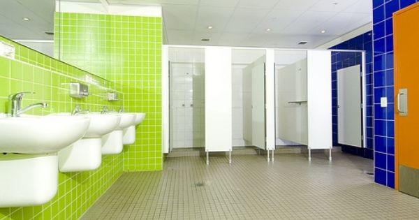 Wake Up Hostel Bathroom By Hostelbookers Via Flickr Hostel Dormitory Bathroom
