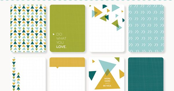Project Life Freebies | [ One Velvet Morning ] Fantastic Journal Cards