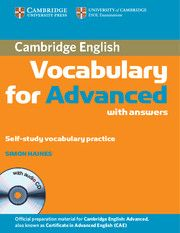 Cambridge Vocabulary For Advanced Avec Images Recrutement Cpe