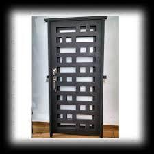 Resultado De Imagen Para Puertas De Herreria Minimalistas Best Front Doors Doors Steel Security Doors