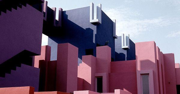 La Muralla roja | Red Wall by Ricardo Bofill (Alicante, Spain) Modern