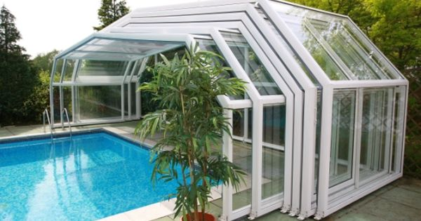 Retractable pool enclosure to cover pool when not in use for Retractable pool enclosures cost