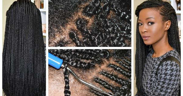 Crochet Box Braids Individual : Small Individual Crochet Box Braids! No Braids Or Cornrows! [Video