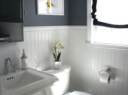 ideas to decorate a small bathroom to make it look bigger ...
