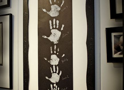 Gallery Wall Family Hand Print Art by Creatively Living. - Such a