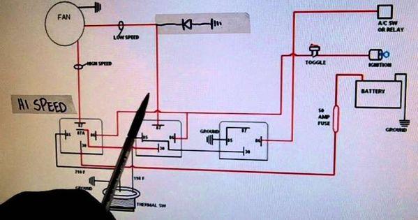 16 Ac Electric Fan Wiring Diagram Wiring Diagram Wiringg Net Electric Cooling Fan Electric Radiator Fan Radiator Fan