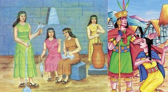 El vestuario que utilizaban las acllas era como el de los demás habitantes,  aunque con algunas singularidades: al ser selecci… | Imperio incaico, Imperio  inca, Inca