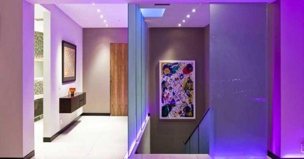 Hallway Purple Fx Pinterest Hallways Lightning And My House