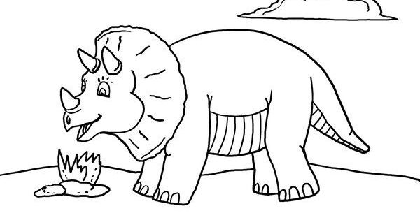 Coloring Pages Quiet : Free printable dinosaur coloring page quiet time
