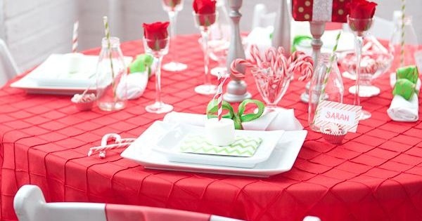 Holiday Table Decor Ideas Christmas Decorations Pinterest Tables Holidays