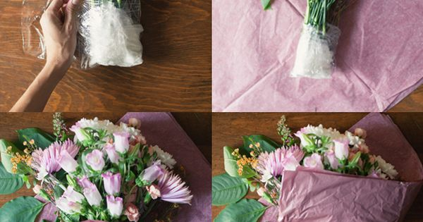3 ways to arrange supermarket Flower Arrangement| http://flower-arrangement-441.blogspot.com