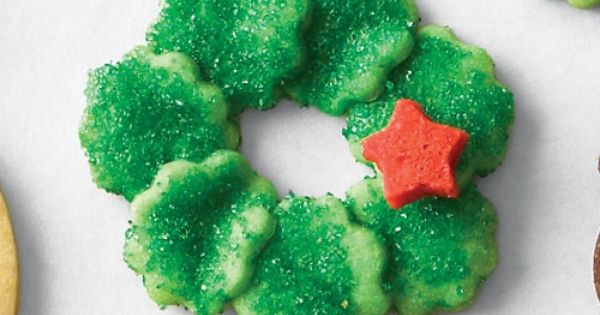 Fluted Wreath Cookies - Martha Stewart Recipes