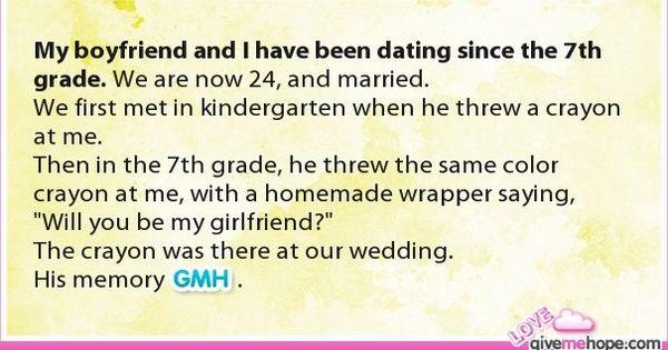 Dating 7th grade